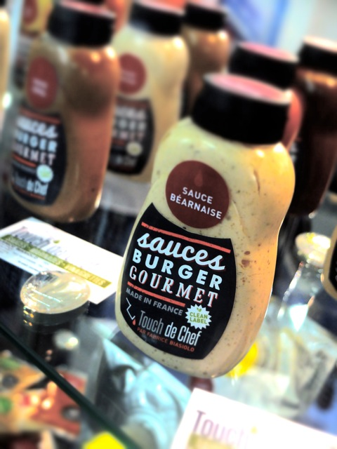 sauces burger packaging