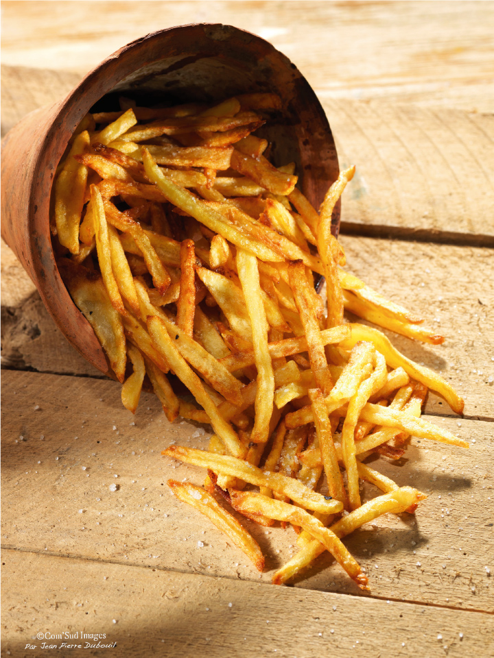 photographie culinaire frites