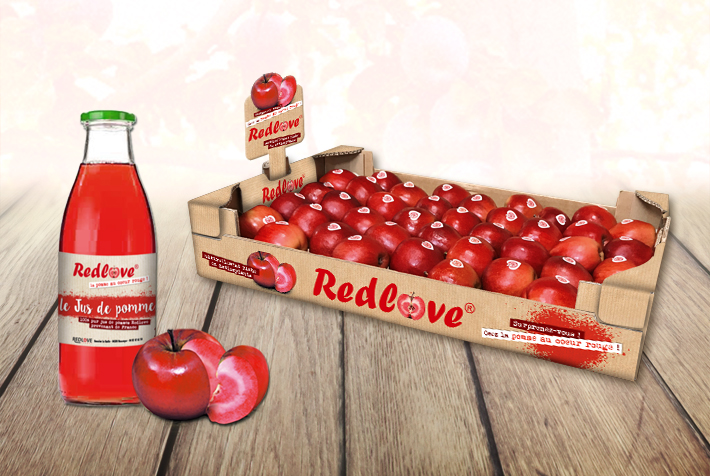 pomme redlove packaging