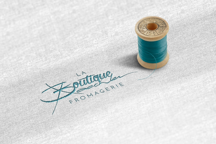 logo boutique broderie
