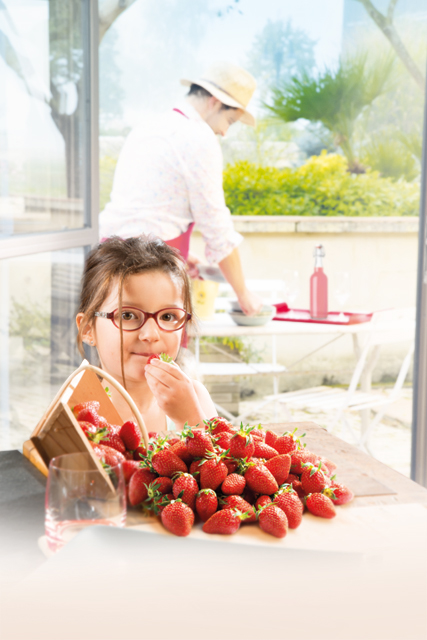 retouche photo agen fraises label rouge