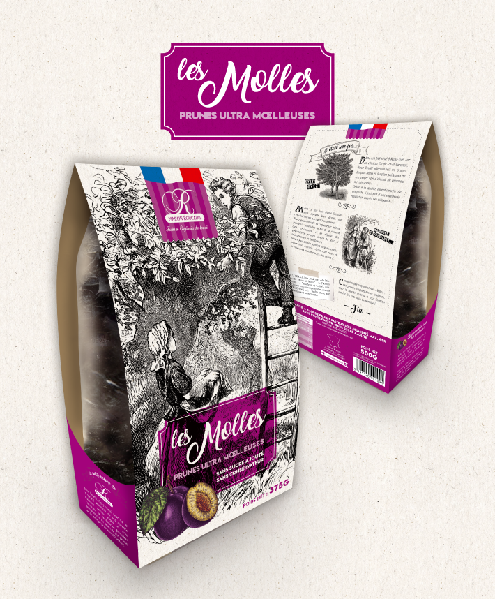 packaging les molles Maisons roucadil